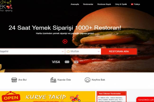 Restoran İşletme Kaydı Üyelik